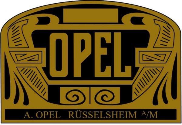 Opel Logo 1906