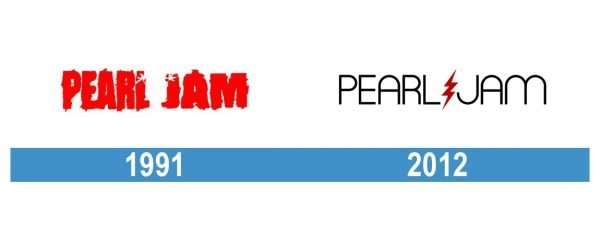 Pearl Jam Logo historia