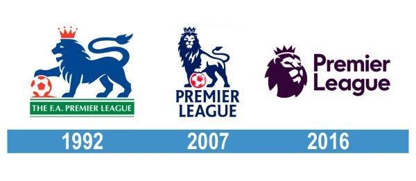Premier League Logo historia