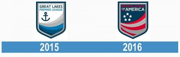 Premier League of America PLA logo historia