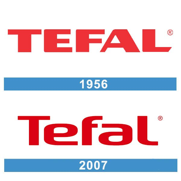 Tefal logo historia