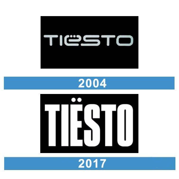 Tiesto logo historia