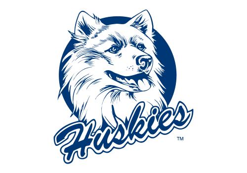 UConn Huskies Logo 1982