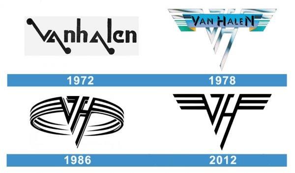 Van Halen logo historia