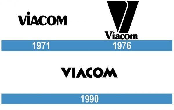 Viacom logo historia