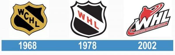 Western Hockey League logo historia