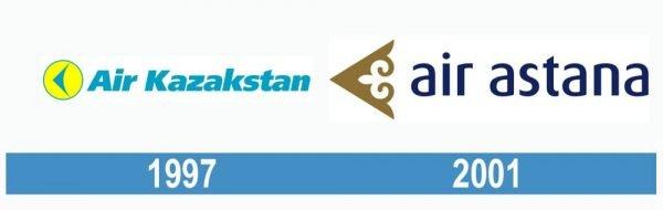 Air Astana historia logo