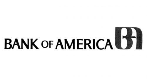 Bank of America logo 1969