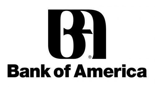 Bank of America logo 1980