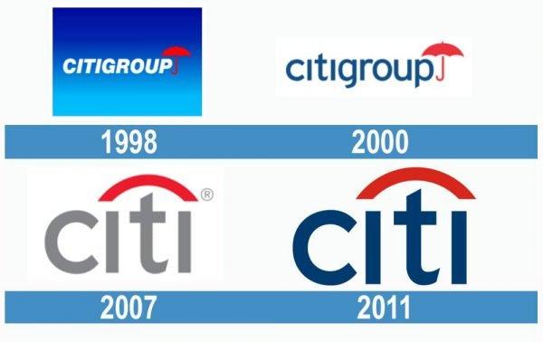 Citigroup historia logo