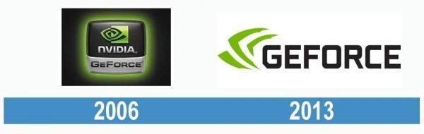 GeForce historia logo