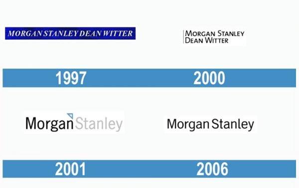 Morgan Stanley historia logo