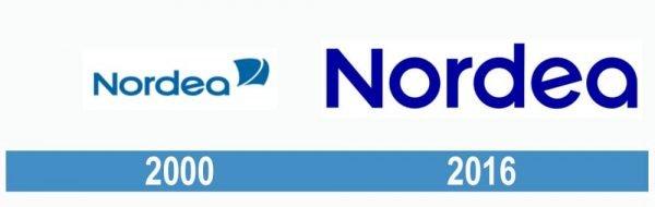 Nordea historia logo