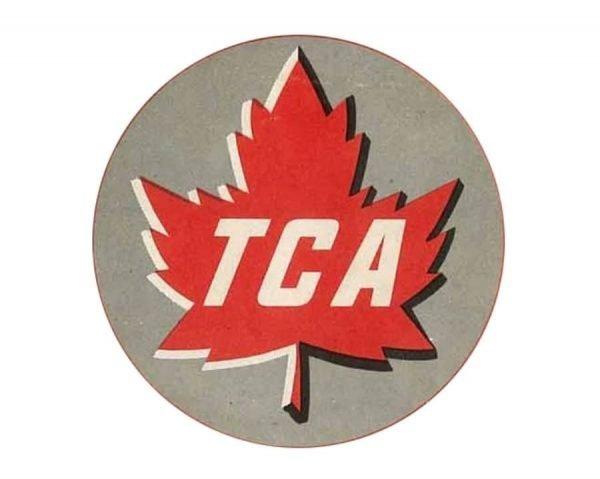 Air Canada Logo 1945