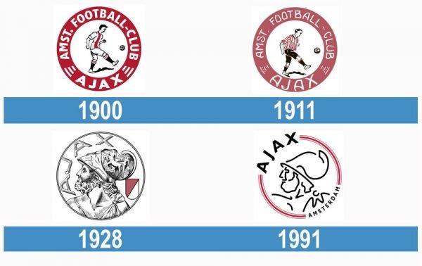 Ajax historia logo