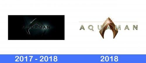 Aquaman Logo history