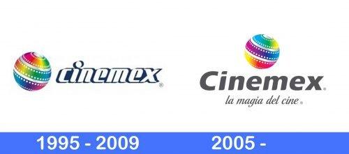 Cinemex Logo history