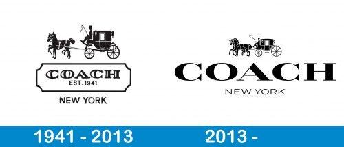Coach Logo history