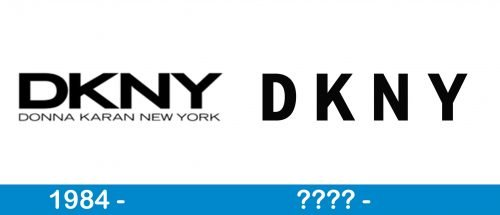 DKNY Logo history