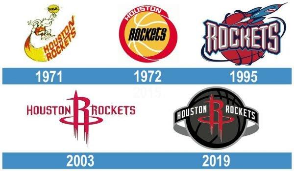 Houston Rockets historia logo