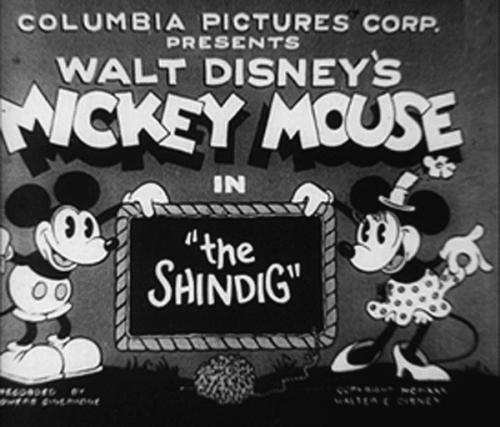 Mickey Mouse Logo-1930