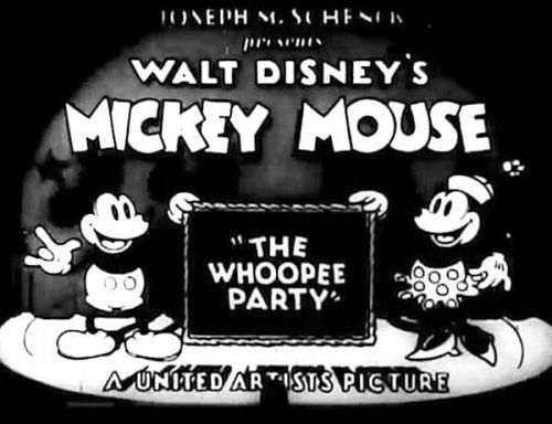 Mickey Mouse Logo-1932