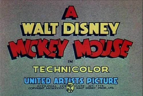 Mickey Mouse Logo-1935