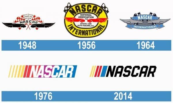 NASCAR historia logo
