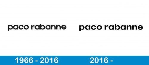 Paco Rabanne Logo history