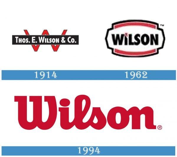 Wilson historia logo