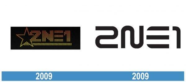 2ne1 historia logo
