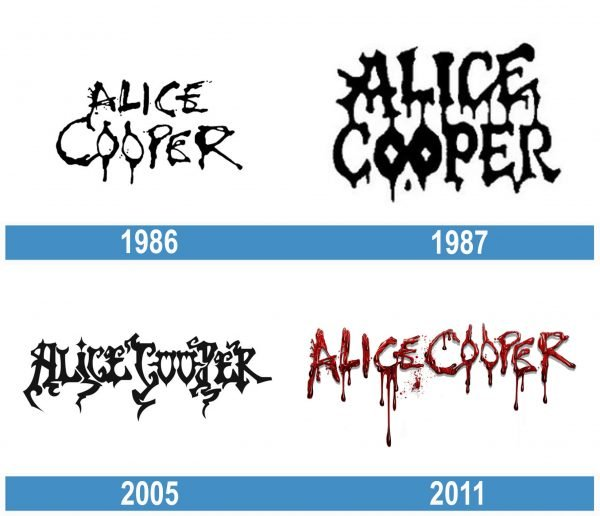 Alice Cooper history logo