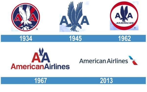 American Airlines historia logo