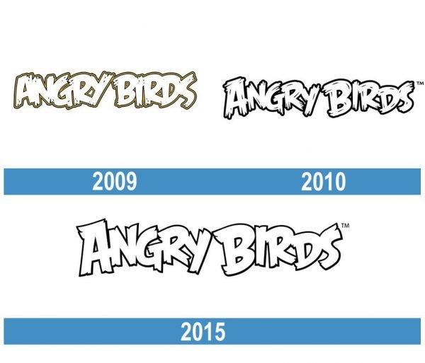 Angry Birds historia logo