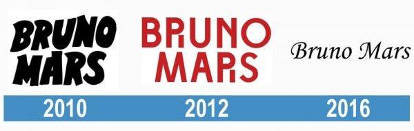 Bruno Mars historia logo