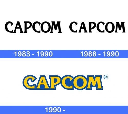 Capcom Logo history