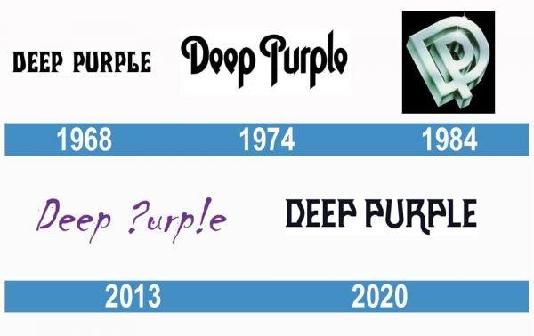 Deep Purple historia logo