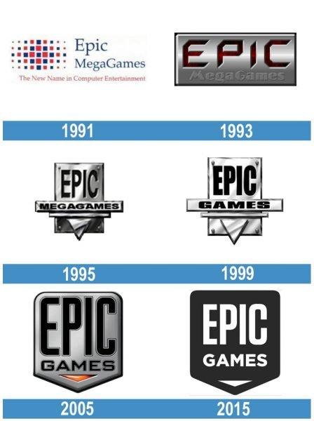 Epic Games historia logo