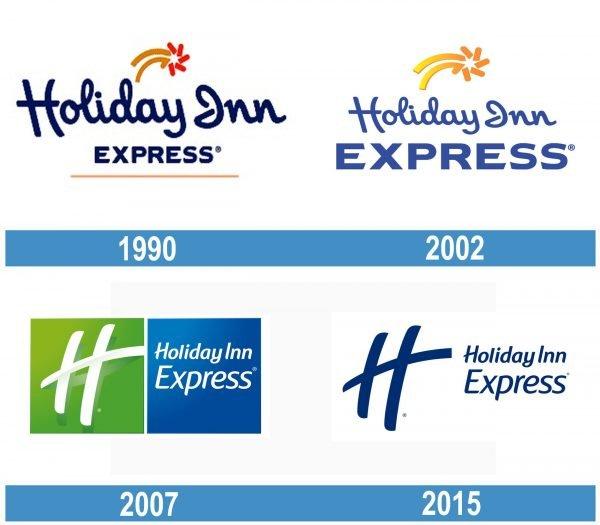 Holiday Inn Express historia logo
