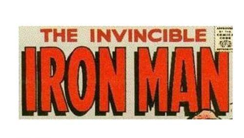 Iron Man Logo-1968