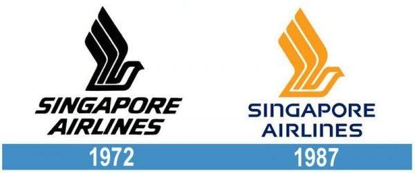 Singapore Airlines historia logo