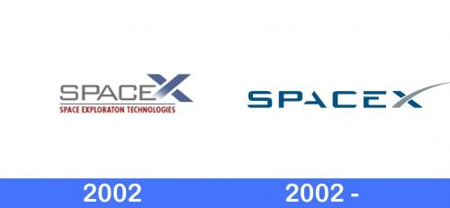 SpaceX Logo history