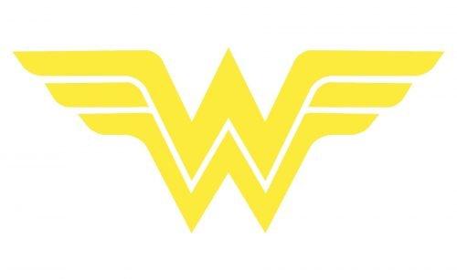 Wonder Woman Logo Color