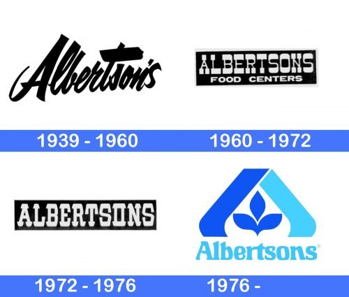 Albertsons Logo history
