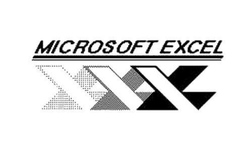 Microsoft Excel Logo-1985