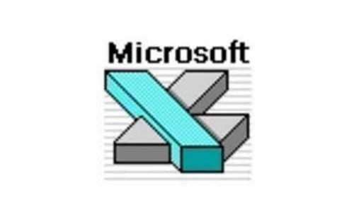 Microsoft Excel Logo-1990