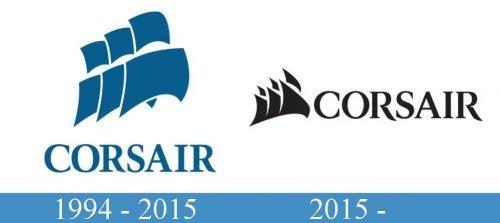 Corsair Logo history