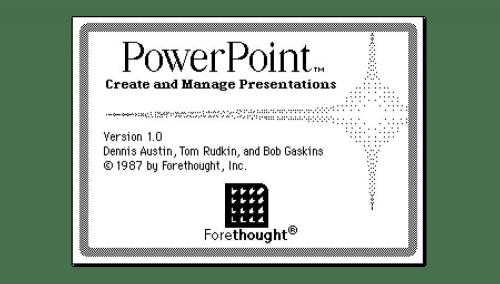 Microsoft PowerPoint Logo-1988