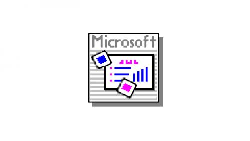 Microsoft PowerPoint Logo-1990