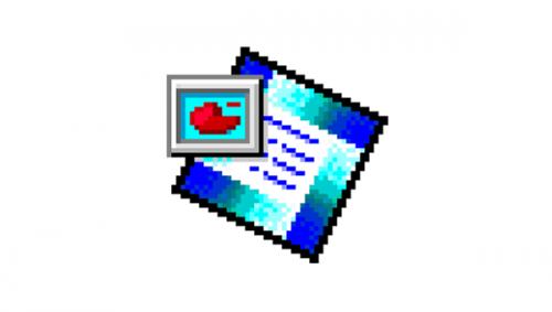 Microsoft PowerPoint Logo-1995